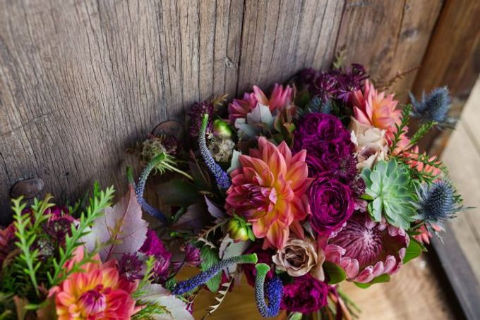 Autumn wedding by Wild Blossom Flowers - 003