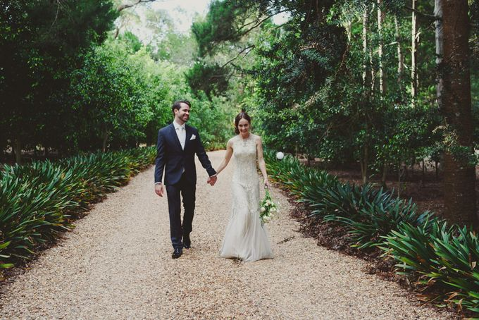 A country woodlands inspired wedding at Gabbinbar Homestead in Toowoomba by Deb Boots wedding photography - 018