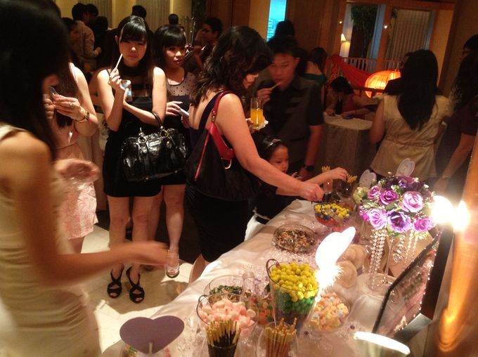 The Purple Dream Wedding by Candy Buffet Singapore - 009