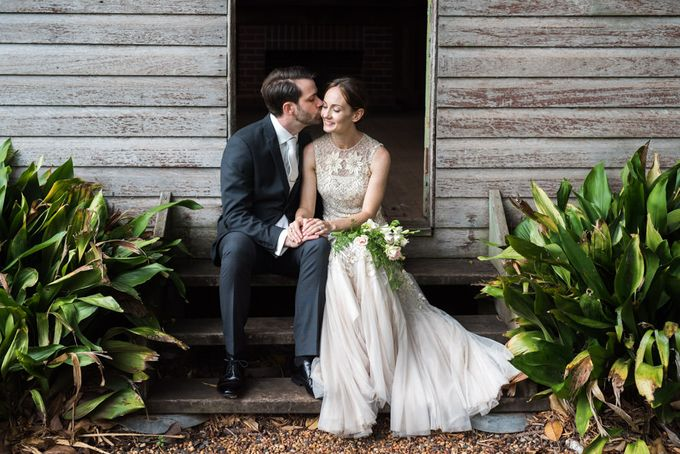 A country woodlands inspired wedding at Gabbinbar Homestead in Toowoomba by Deb Boots wedding photography - 020
