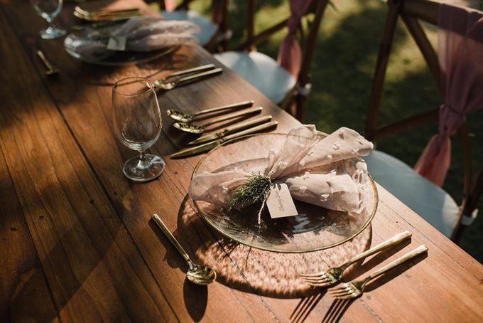 Rustic Decoration by Bali Izatta Wedding Planner & Wedding Florist Decorator - 001