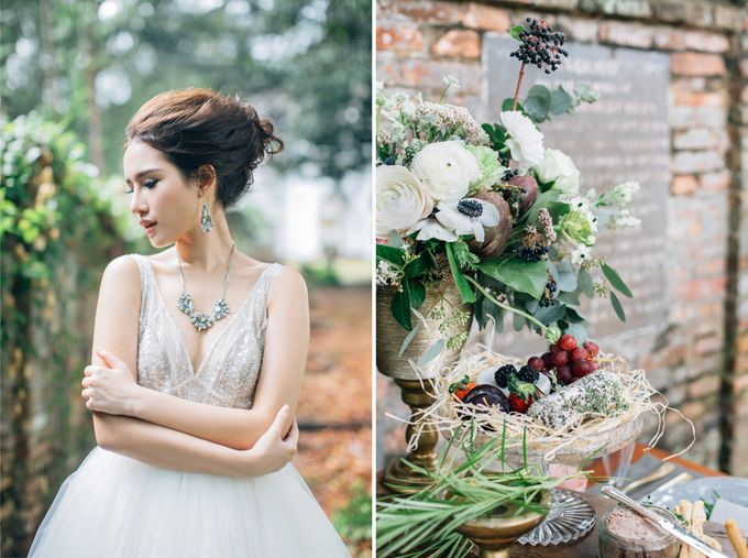 RUSTIC GRAZING TABLE by Bloc Memoire Photography - 011