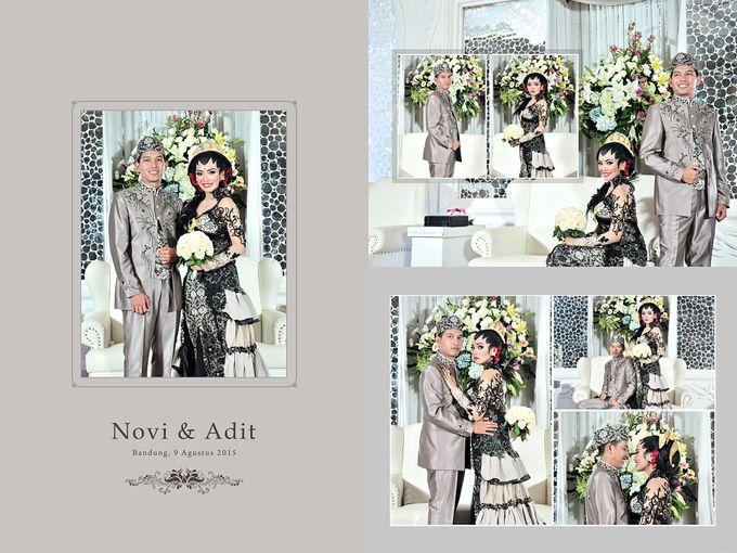The Wedding of Novi & Adit by N'Den Salon & Wedding Organizer - 008