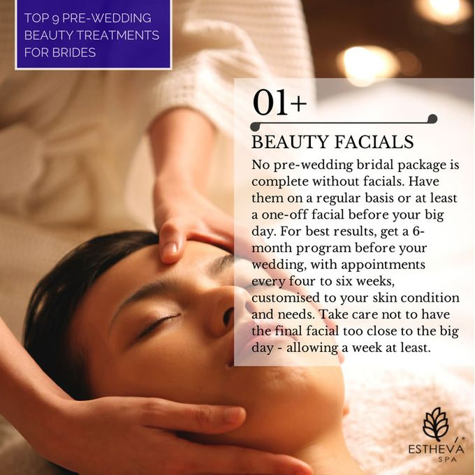 The Top 9 Pre-Wedding Beauty Treatments for Brides by ESTHEVA Spa - 001