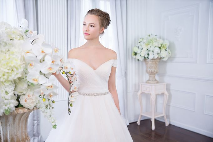 Orchid Wedding Gown Collection by Digio Bridal - 001