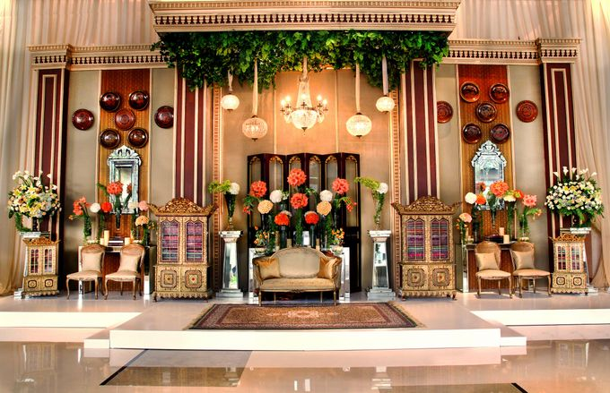 The Wedding of Maria and Mahdi by Amarillis Floral and Party Decorator - 001