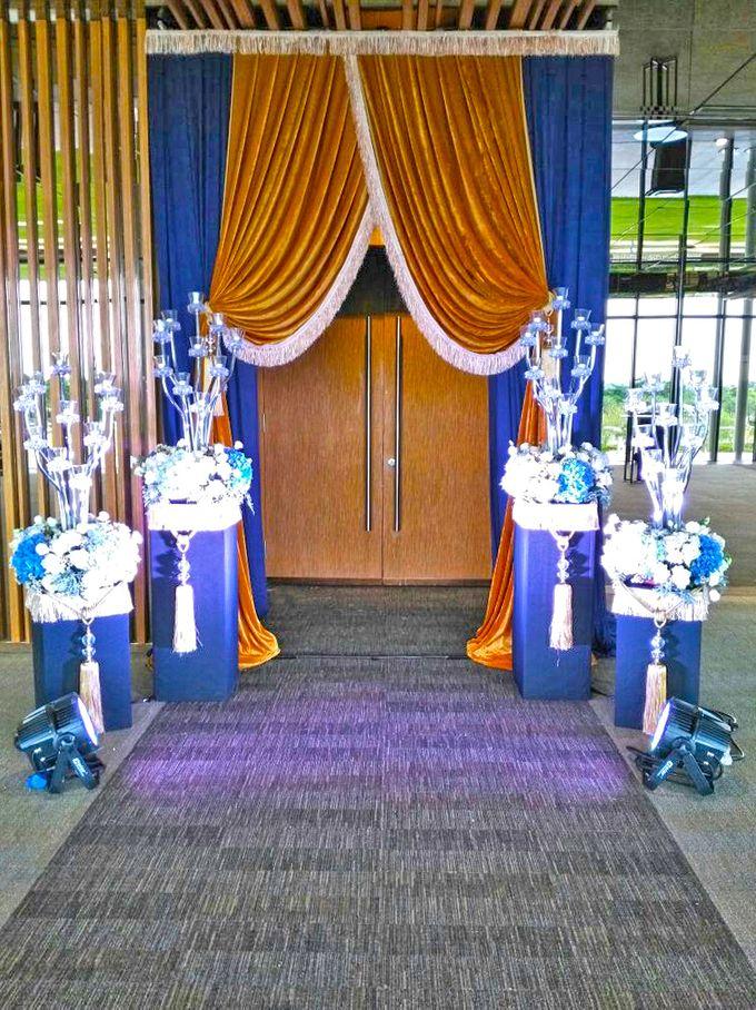 Midnight Blue theme Wedding by ZURIEE AHMAD CONCEPTS SDN BHD - 001