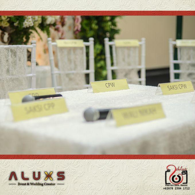 The Wedding of Santa & Khresna by Alux's Event & Wedding Creator - 044