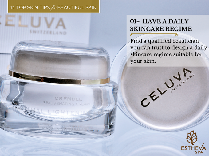 Top 12 Skincare Tips for Beautiful and Younger Skin by ESTHEVA Spa - 002