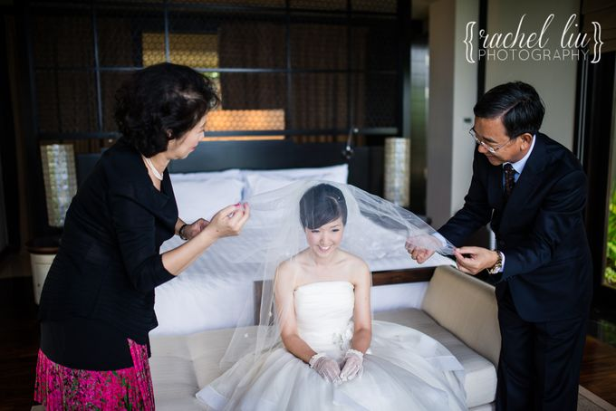 ASHLEY & MICHAEL WEDDING by Banyan Tree Ungasan Resort - 002