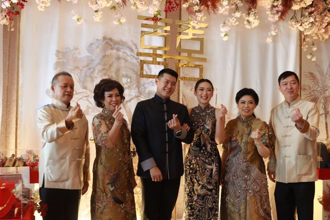 Sangjit House Of Yuen Hotel Fairmont Jakarta - MC Anthony Stevven by NOMA Jewelry & Accessories - 001