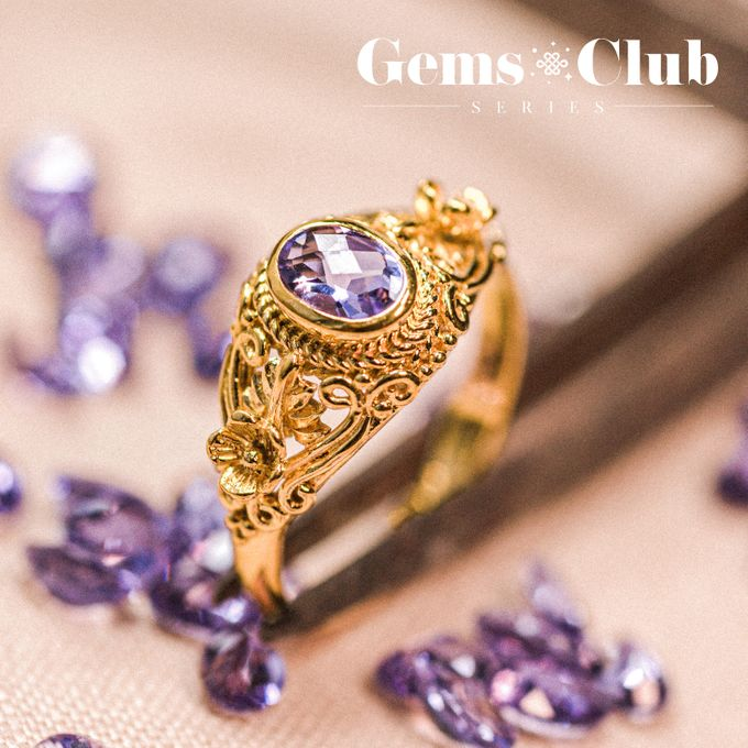 "Gemsclub ""Lavender Gem Series"" by Tulola - 006"