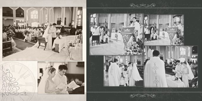 Wedding Album Lay-out by CJC PHOTOGRAPHY ASIA CORPORATION - 001
