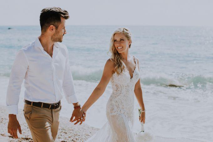 Glamorous destination beach wedding in Lefkada by Your Lefkada Wedding - 011
