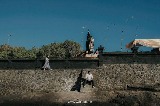 The Prewedding Of Andrew & Dinar by alienco photography - 002