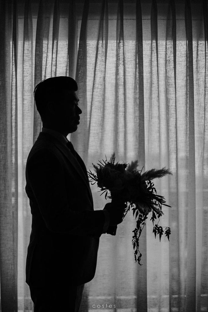 The Wedding of Carin & Stephen by Costes Portrait - 011