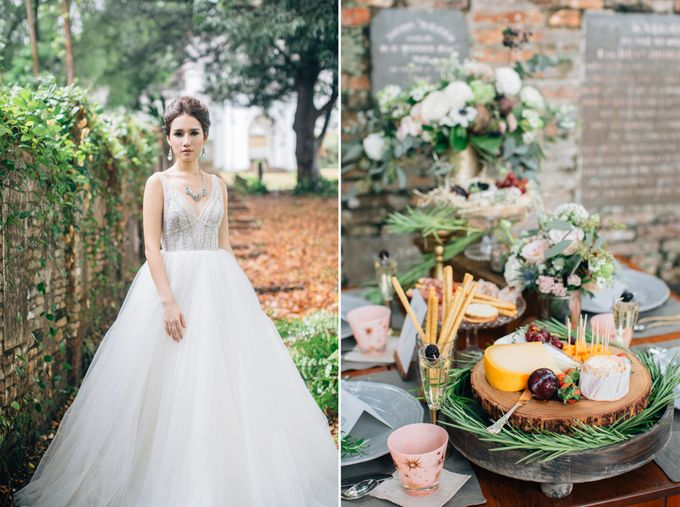 RUSTIC GRAZING TABLE by Bloc Memoire Photography - 013
