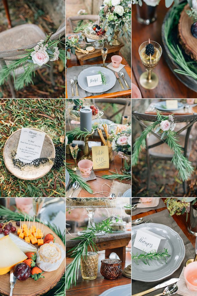 RUSTIC GRAZING TABLE by Bloc Memoire Photography - 014