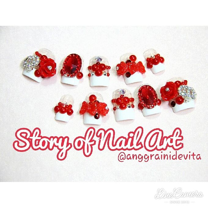 Fake Nails by Story of Nailart - 005