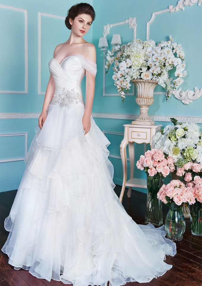 Orchid Wedding Gown Collection by Digio Bridal - 021