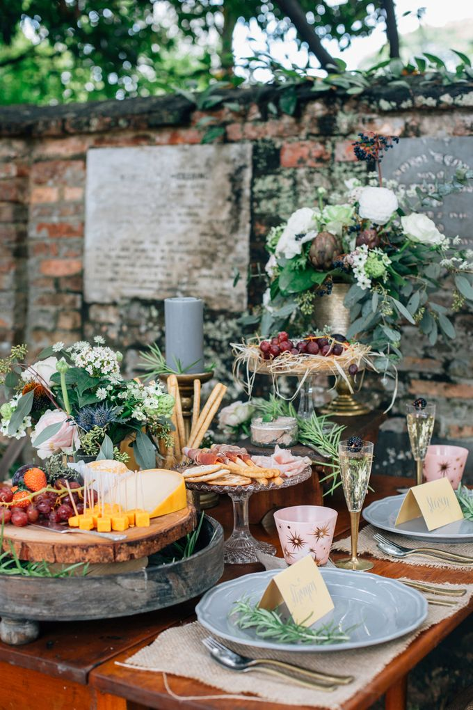 RUSTIC GRAZING TABLE by Bloc Memoire Photography - 017