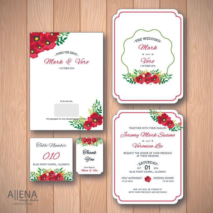 Wedding Invitation Mark Vero By Allena Design Studio Bridestory Com