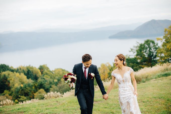 Cliff Top Ceremony by LANDRESS WEDDING - 002