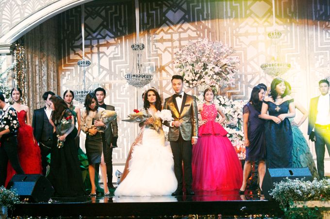 Stevie and Francesca's Fashion Wedding by Overdream Production - 005