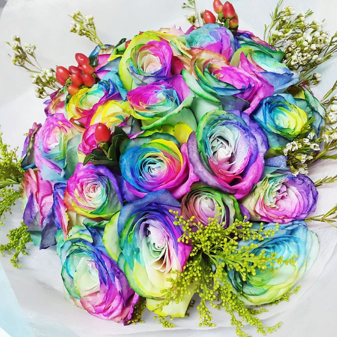 Over the Rainbow by Roseveelt Florist - 001