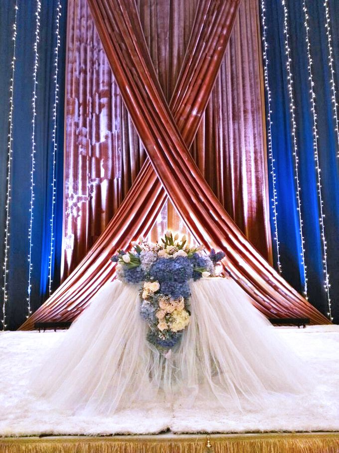 Midnight Blue theme Wedding by ZURIEE AHMAD CONCEPTS SDN BHD - 002