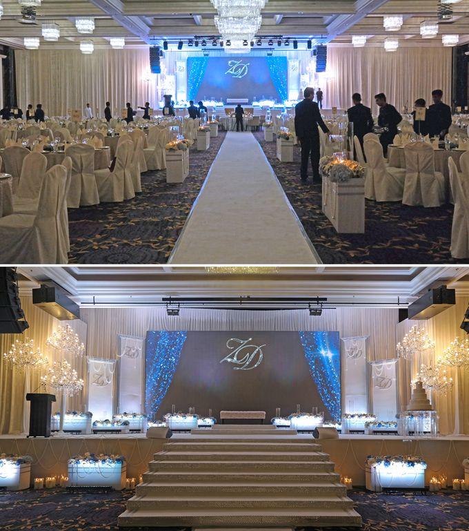 Sparkling Theme Wedding by ZURIEE AHMAD CONCEPTS SDN BHD - 005