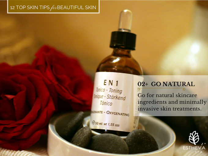 Top 12 Skincare Tips for Beautiful and Younger Skin by ESTHEVA Spa - 003