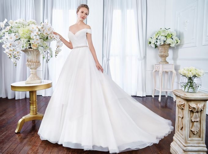 Orchid Wedding Gown Collection by Digio Bridal - 002