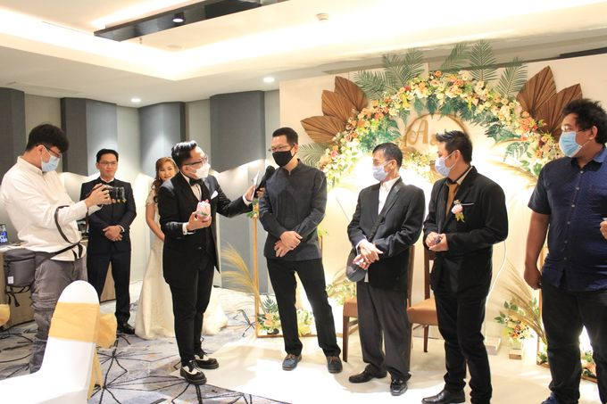 MC Wedding Double V Entertainment at JHL Solitaire Serpong by Double V Entertainment - 006