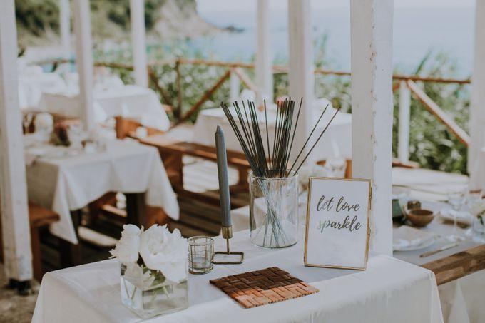 Glamorous destination beach wedding in Lefkada by Your Lefkada Wedding - 025