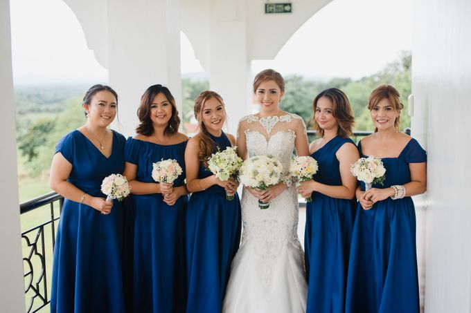 Blue Black Wedding Theme - AL & MJ by Mot Rasay Photography - 006