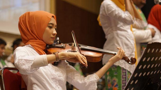 Big Band for The Wedding of Nadia & Atria at Sasana Kriya TMII by La Oficio Entertainment - 004