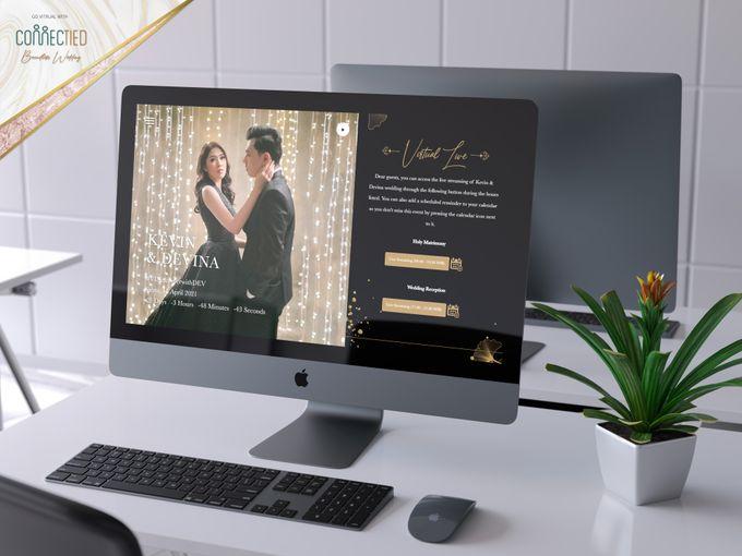 Kevin & Devina - Digital Invitation / Undangan Digital Connectied v2.0 + Live Streaming by Connectied Virtual Wedding - 003