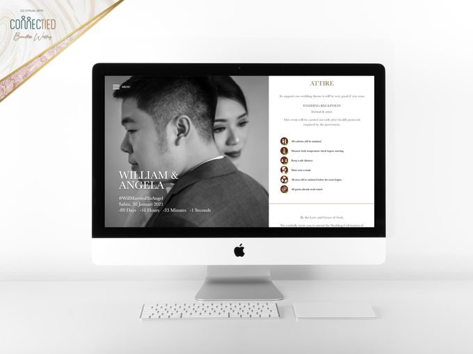 William & Angela - Digital Invitation / Undangan Digital Connectied v1.1 by Connectied Virtual Wedding - 003