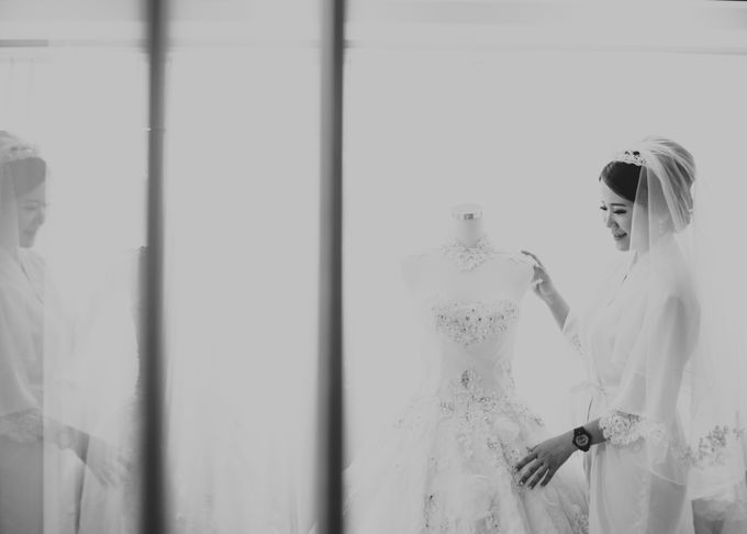 The Wedding Of Jonathan Kasih by King Foto & Bridal Image Wedding - 004