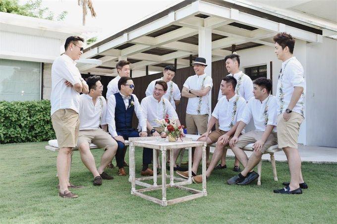 The Wedding of Donald & Larissa by BDD Weddings Indonesia - 003