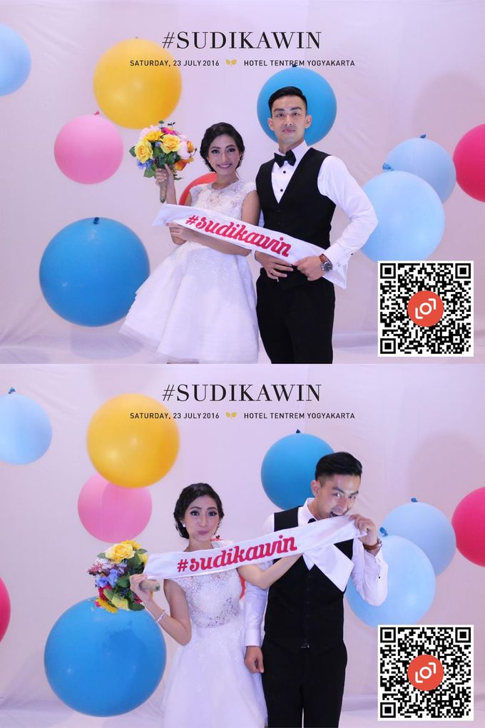 Wedding of Suryo & Dina by lolphotobooth.co - 012