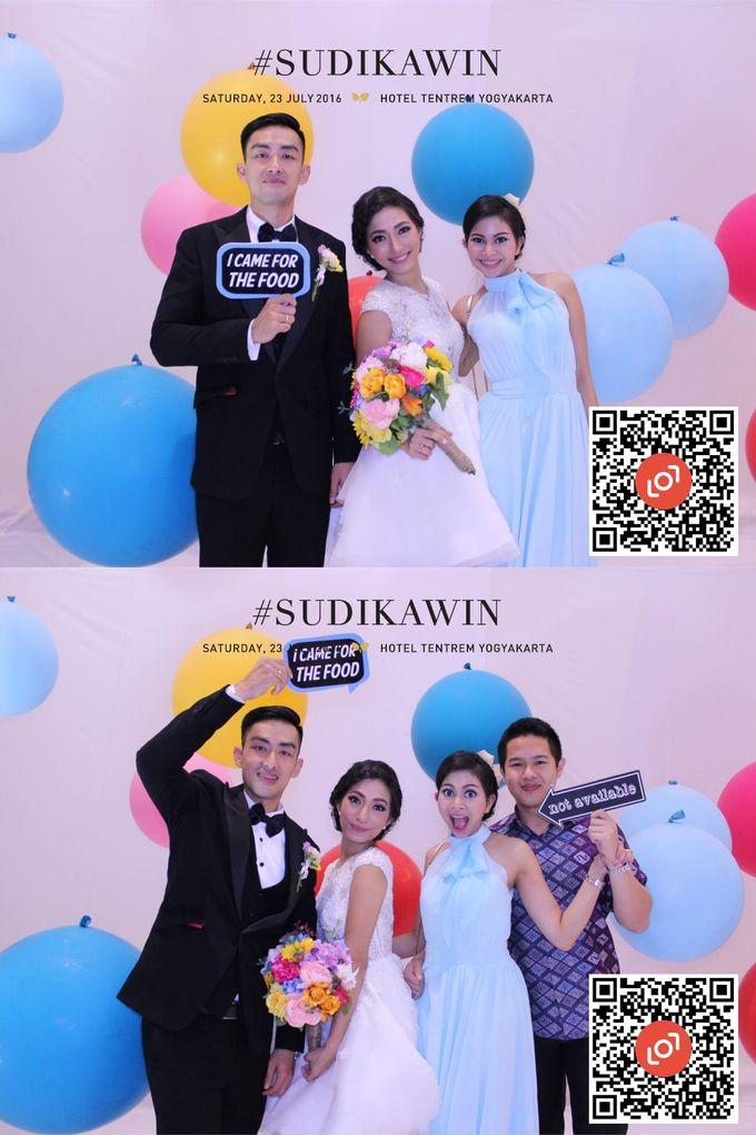 Wedding of Suryo & Dina by lolphotobooth.co - 017