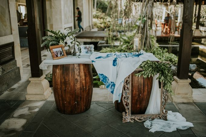 Bali Greenery Rustic with Boho Touch Wedding Decoration by Eurasia Wedding - 005