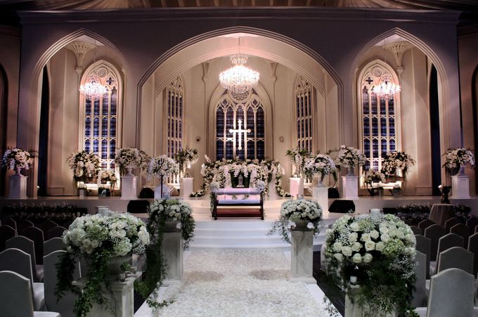 John and Xuan Wei's Holy Matrimony by Amarillis Floral and Party Decorator - 003