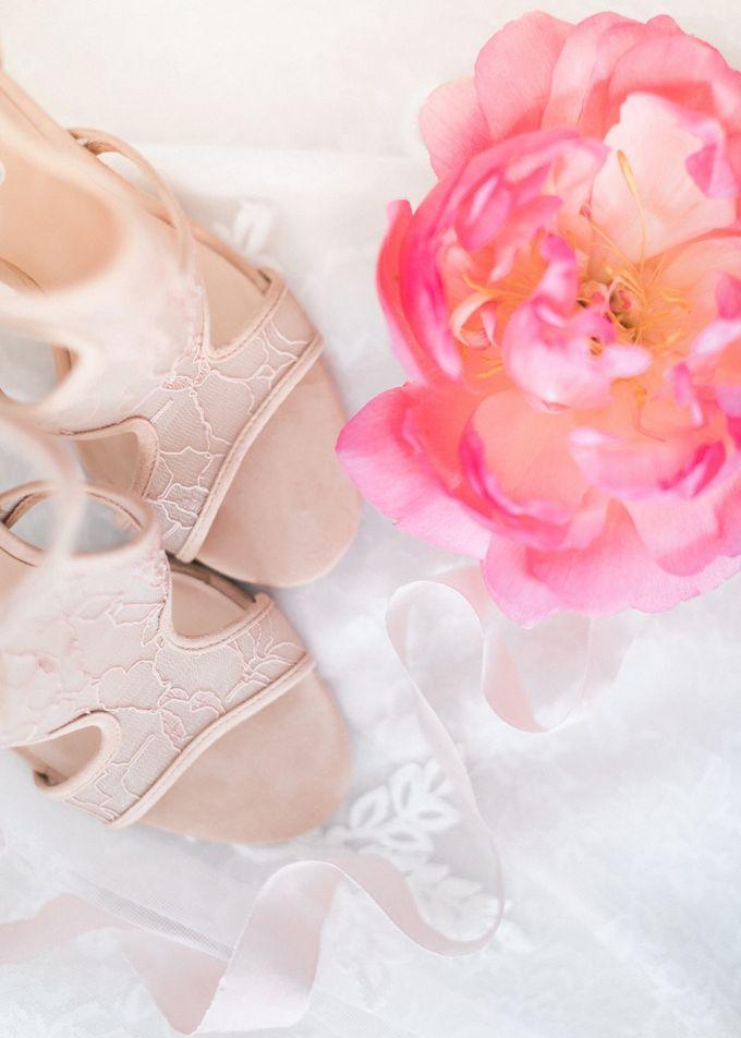 Dusty Pink Dream Wedding in Santorini by Stella & Moscha Weddings - 003