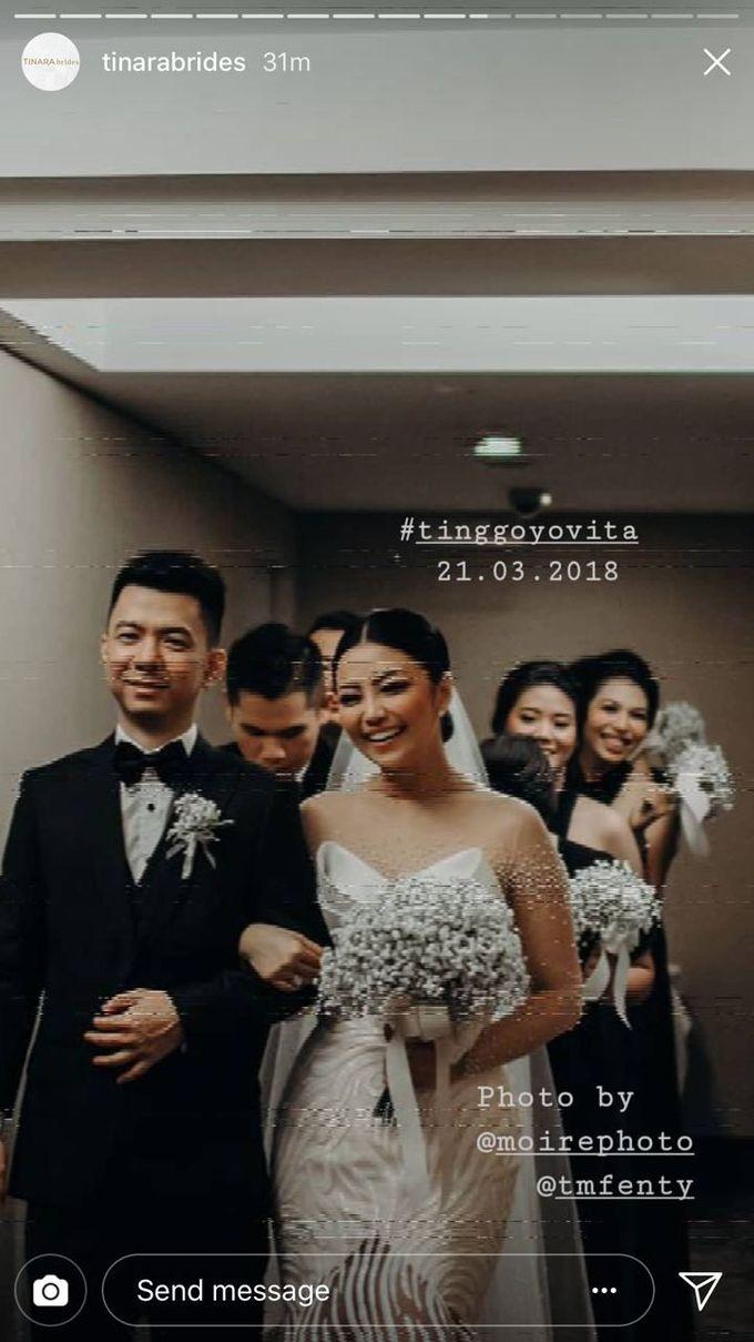TINGGO YOVITA WEDDING by bridestore indonesia - 003