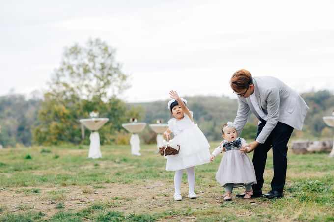 Cliff Top Ceremony by LANDRESS WEDDING - 006