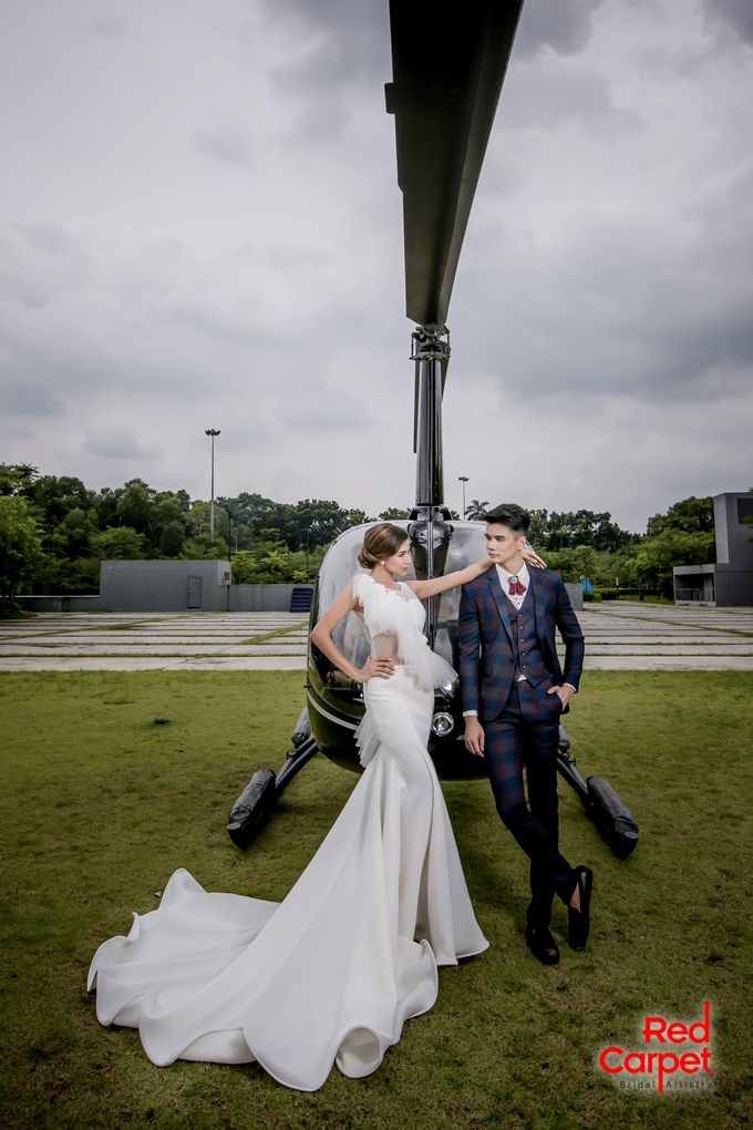 Pre Wedding Photo Shoot (HELICOPTER) by RedCarpet Bridal Artistry - 006