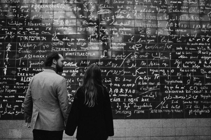 Intimate Couple Photoshoot In Paris by Février Photography | Paris Photographer - 007